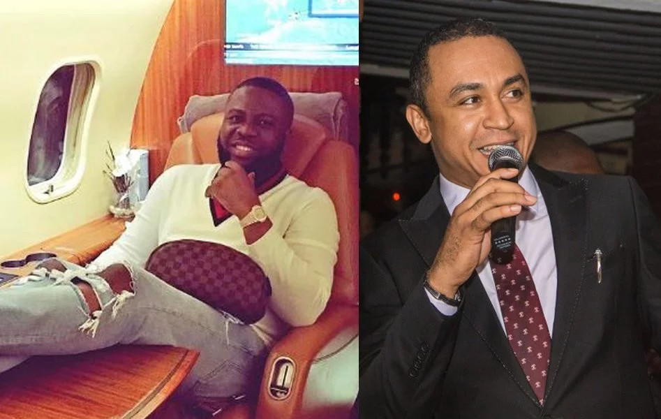 "Daddy Freeze: ""Daddy Freeze reacts to being called out for dining with Hushpuppi after criticizing Pastors"" (videos)"