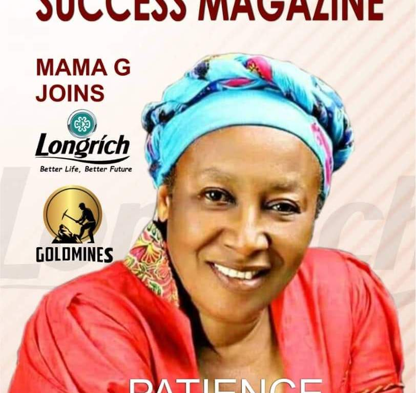 Veteran Nollywood Actress, Patience Ozokwor aka (MAMA G) partners with Longrich International.