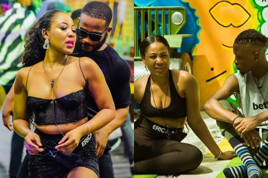 "#ThingsLayconCaused: ""I'm mentally attracted to you and physically attracted to Kiddwaya"" – Erica tells Laycon (videos)"
