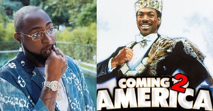 """Davido to feature in """"Coming to America 2"""" (video)"""