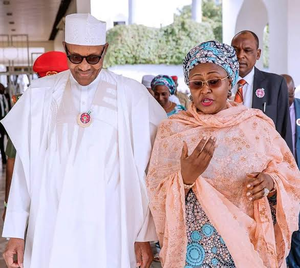 """""""First lady Aisha Buhari reportedly relocates to Dubai, cites insecurity in Aso Rock…"""""""
