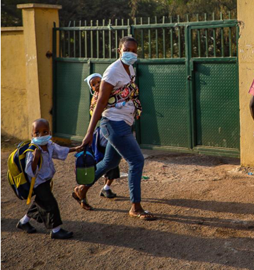 "#COVIDSecondWave: ""Schools in Nigeria resume amidst Second Wave of the COVID19 pandemic as Nigeria Medical Association expresses concerns over the Re-opening of schools (photos)"""