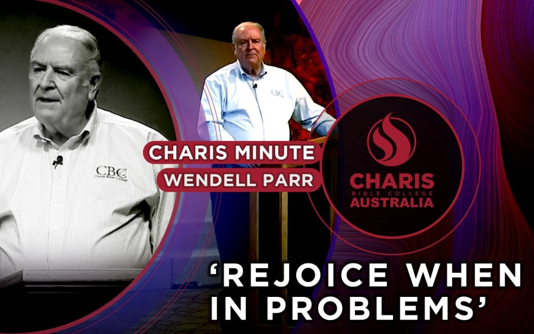 Rejoice When In Problems
