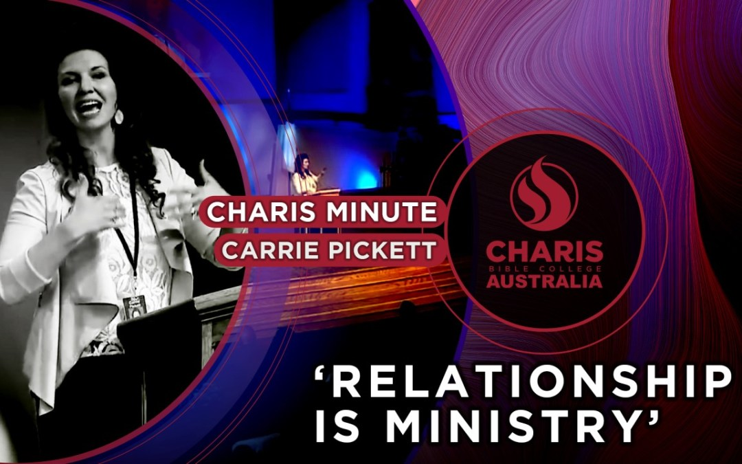 Relationship Is Ministry