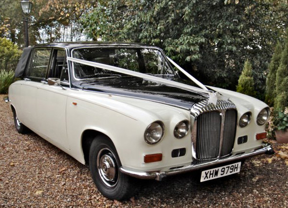 Daimler State Landaulette - 1970 ready for a wedding - a superb wedding car