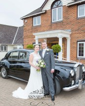 The big day with our 1962 Rolls Silver Cloud - perfect wedding transport