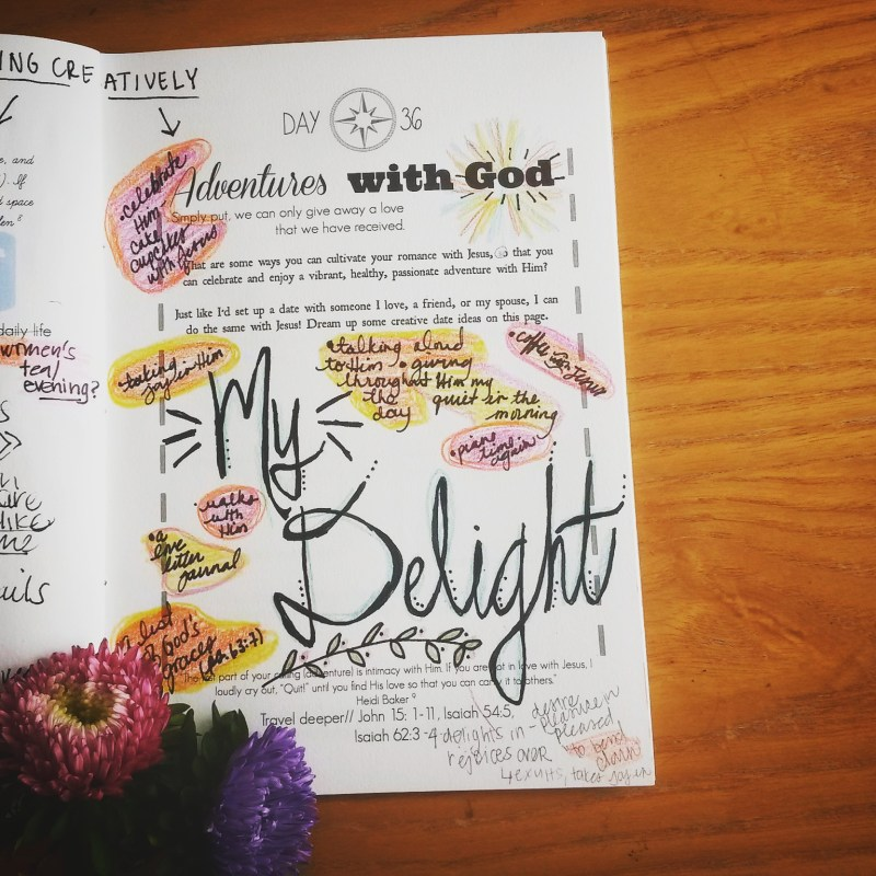 7 Creative Dates with God!