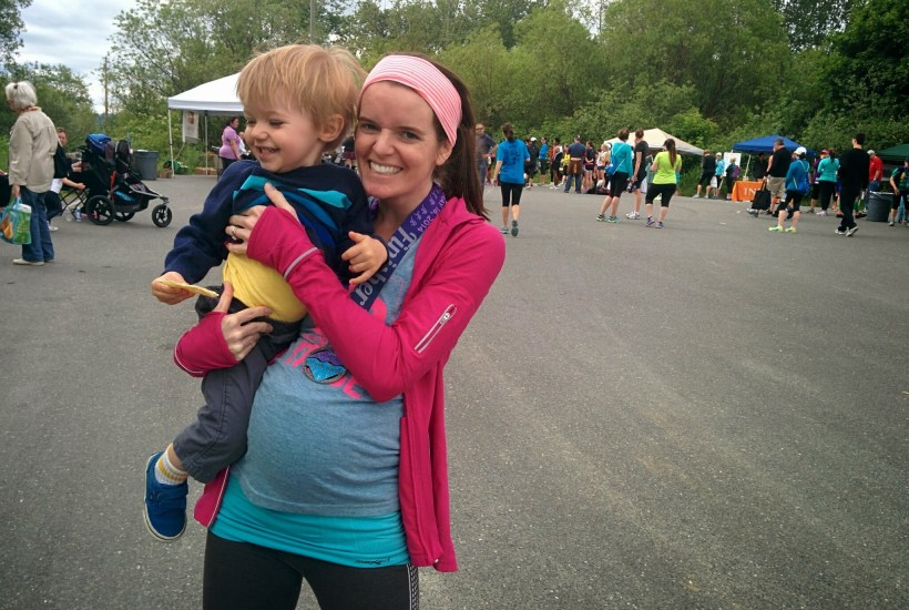 Running While Pregnant & Life Overseas