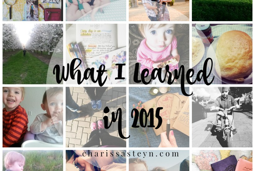 12 Things I Learned In 2015.