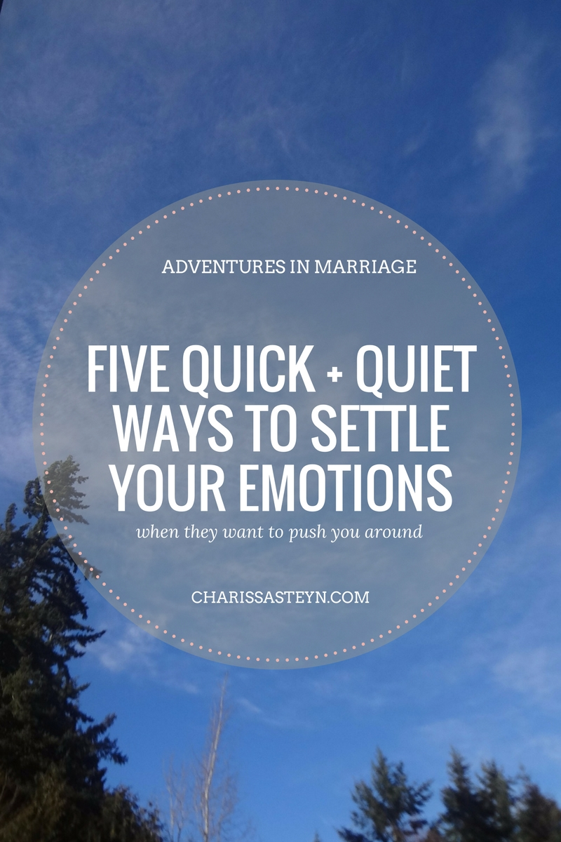 5 quick and quiet ways