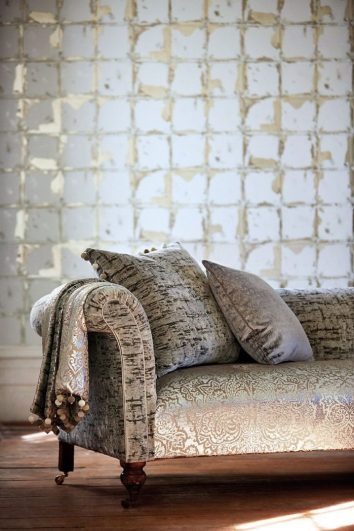 Wallpaper and fabric, from Leonida collection, Harlequin
