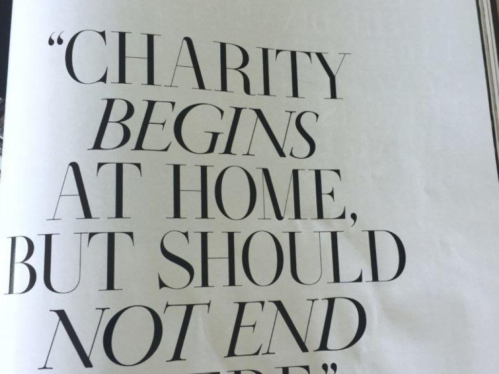 T&C philanthrophy