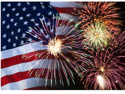 fireworks-american-flag