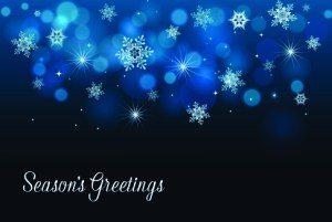 christmas-greeting-card-blue-snowflake-holiday-by-house.jpg