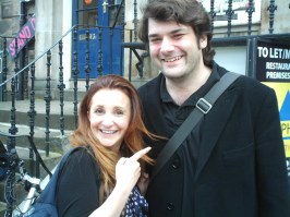 LUCY PORTER AND JIM HOLLAND