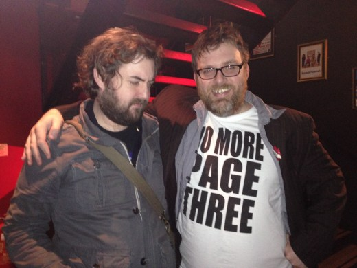 NICK HELM, DAN MITCHELL, NO MORE PAGE 3