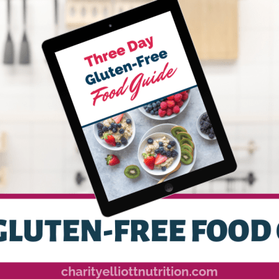 Three Day Gluten Free Meal Guide