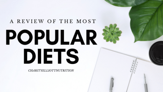 a review of the most popular diets