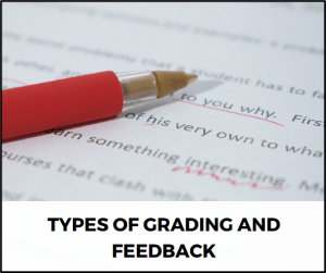 Types of Grading and Feedback