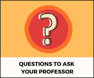Questions to Ask Your Professor