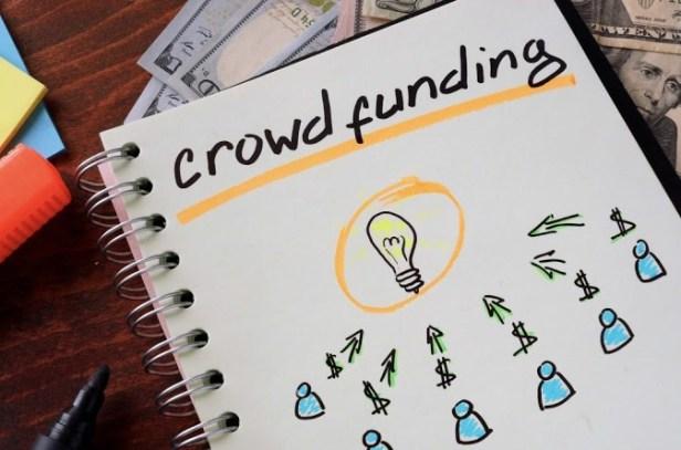 crowdfunding-stock photo