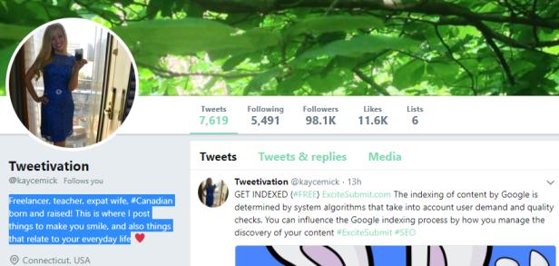 tweetivation