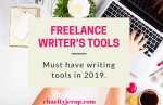 Freelance writer's Tools: Important Tools For Freelance Writers in 2019.