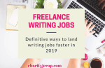 Freelance Writing Jobs: Ways to Find Writing Jobs In 2020(Definitive Guide)