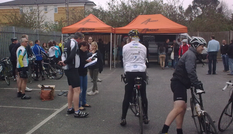 Surrey Hills – Cycle Slam Training Ride (1/5)