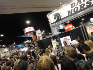 Joss Whedon at Comic-Con 2010 Darkhorse Comics Booth