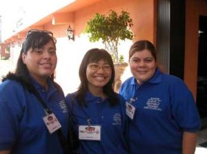 Pictured: Nereida, Me, and Carolina in Gomez-Palacio