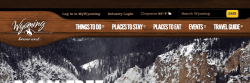 Portfolio: Wyoming Office of Tourism