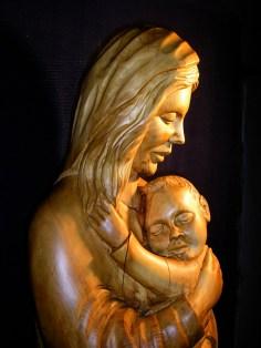 Mutter und Kind, Kastanie
