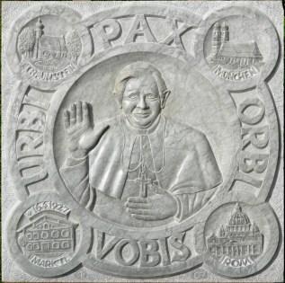 Papstrelief , Marmor