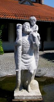 Christopherus, Marmor