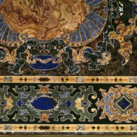 The Stones in Charlecote's Pietra Dura table