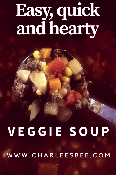 Easy, Quick and Hearty Veggie Soup