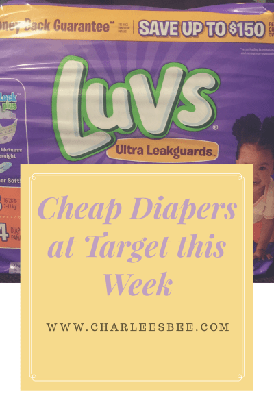 Cheap Diapers at Target this Week