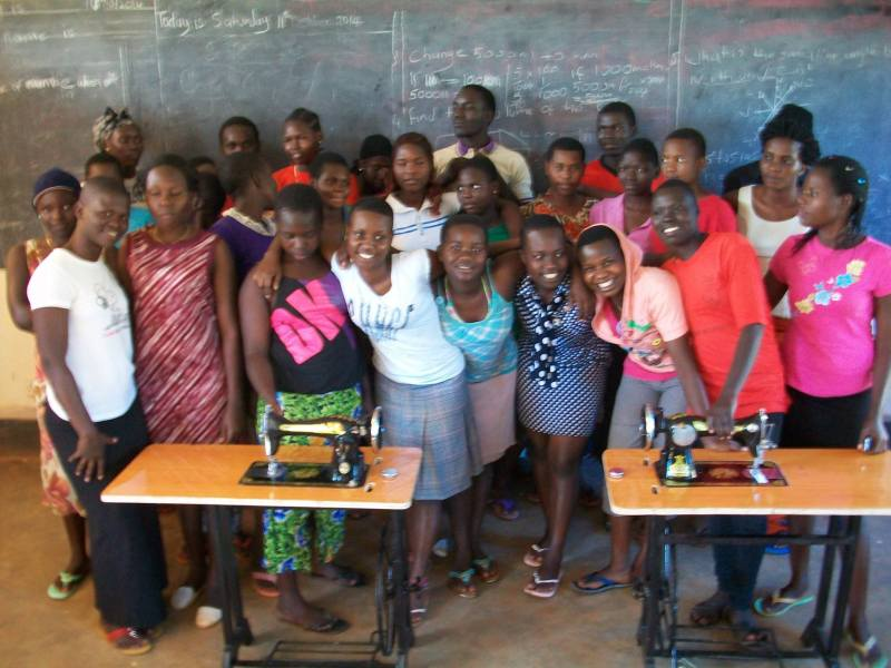 Sewing machines donated by Charlene's Project