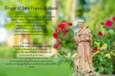 Prayer of Saint Francis of Assisi