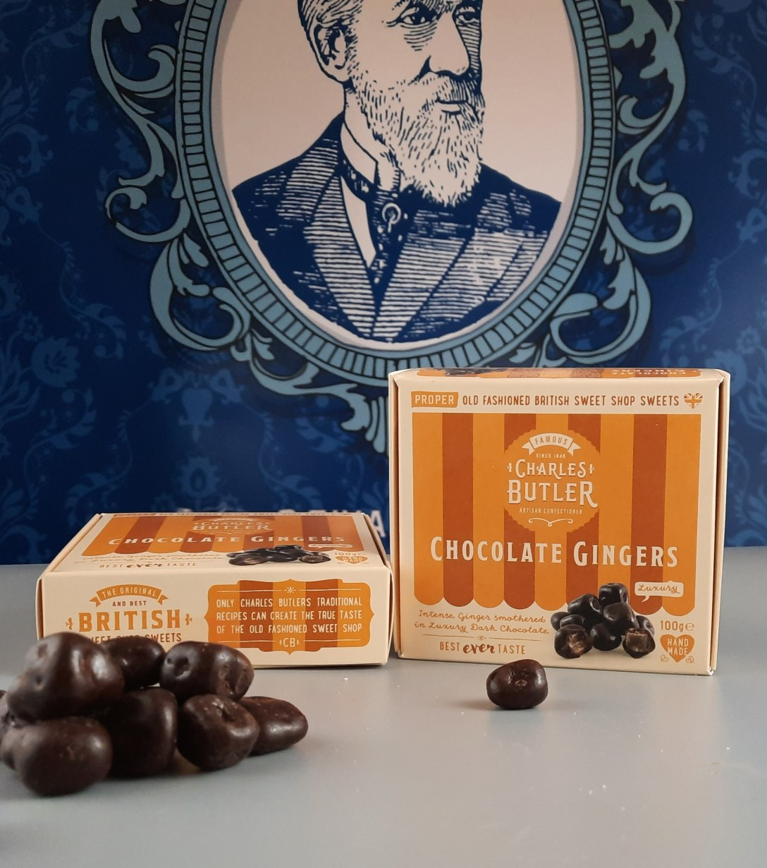 Charles Butler Chocolate Gingers 100g