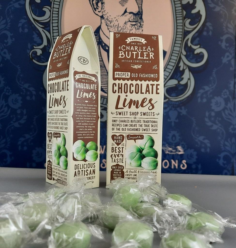Charles Butler Chocolate Limes 190g