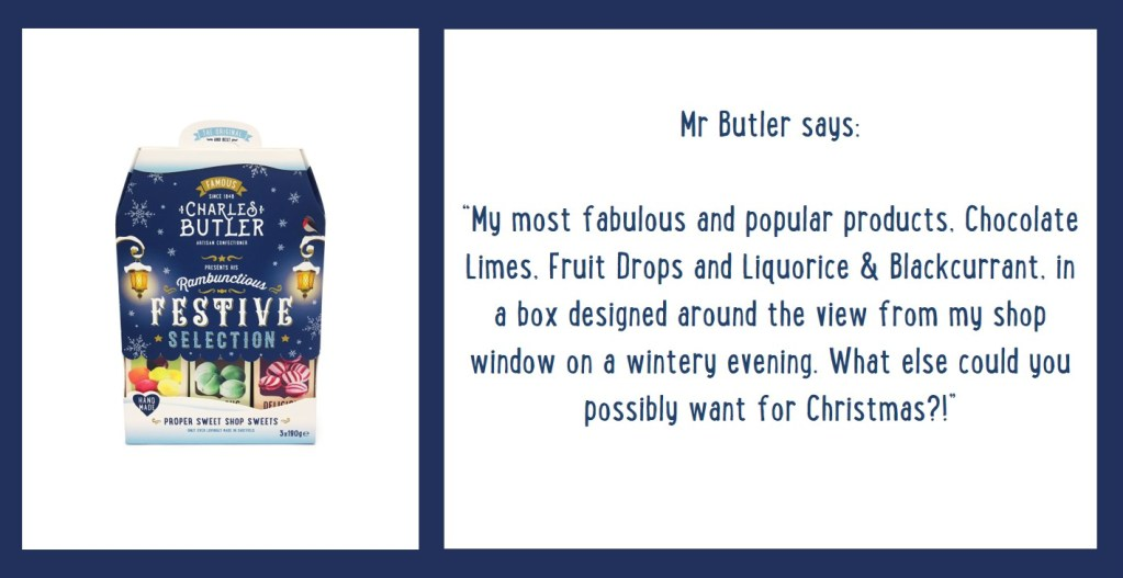 Charles Butler Festive Selection Information