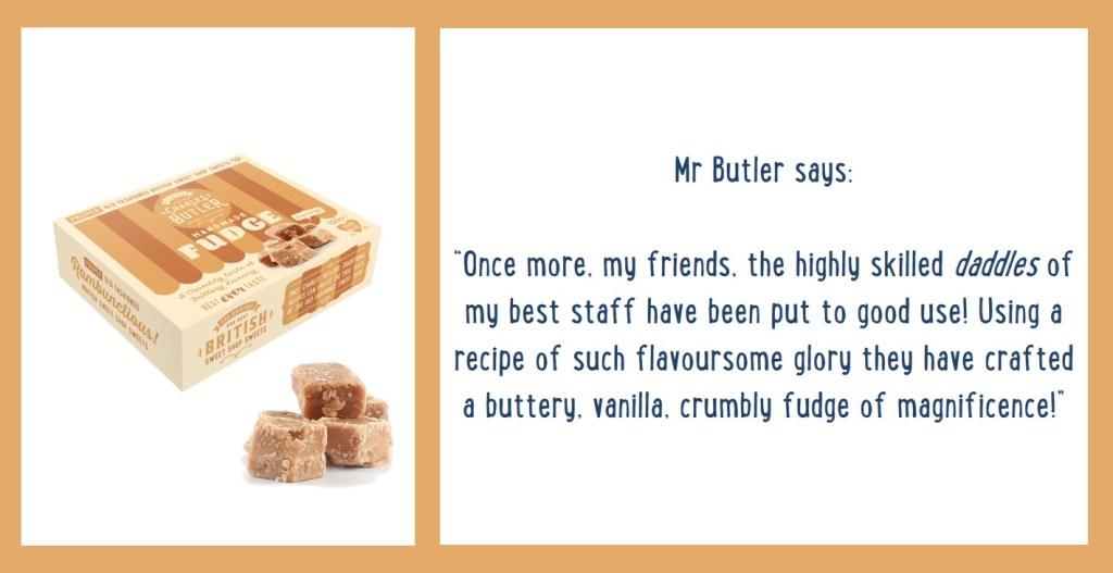 Charles Butler Handmade Fudge Information