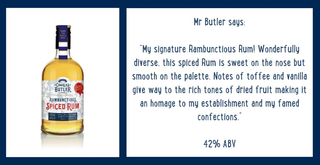Charles Butler Rambunctious Spiced Rum Information
