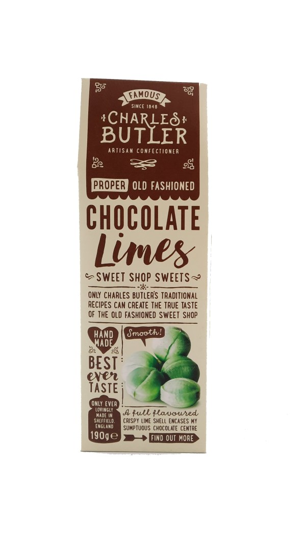 Charles Butler Chocolate Limes box