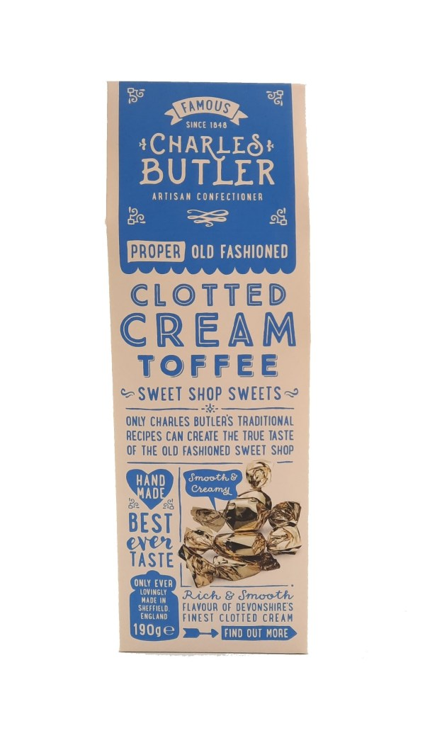 Charles Butler Clotted Cream toffee box