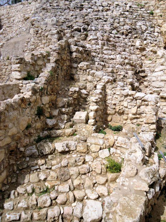 The Millo, City of David, Jerusalem, Israel