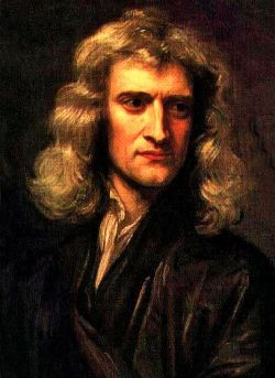 """Sir Isaac Newton (1642-1727), the Father of Physics, genius mathematician and lover of astronomy. """"Gravity explains the motions of the planets, but it cannot explain who set the planets in motion. God governs all things and knows all that is or can be done. I have a fundamental belief in the Bible as the Word of God, written by men who were inspired. I study the Bible daily."""""""