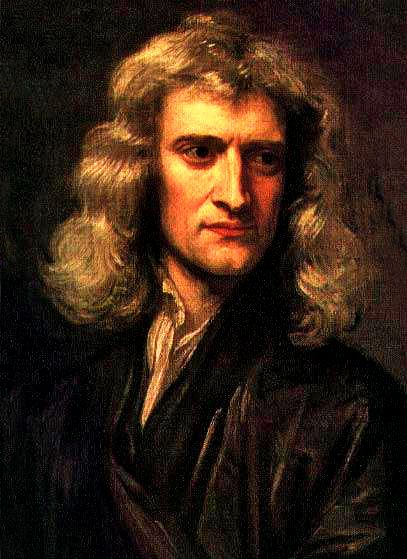 "Sir Isaac Newton (1642-1727), the Father of Physics, genius mathematician and lover of astronomy. ""Gravity explains the motions of the planets, but it cannot explain who set the planets in motion. God governs all things and knows all that is or can be done. I have a fundamental belief in the Bible as the Word of God, written by men who were inspired. I study the Bible daily."""